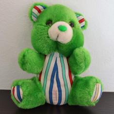 Jucarie de plus, ursulet de plus verde - 18cm inaltime #441 - Jucarii plus
