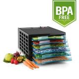 Klarstein uscator de fructe sacadat Pro 6 deshidratant mașină deshidratant uscator de 630W 6 etaje fara BPA - Deshidrator