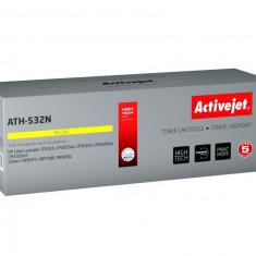 Toner ActiveJet compatibil CRG-718 galben pentru Canon