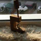 Vand Schimb suport ceas de buzunar din lemn.2+1 GRATIS