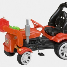 Tractor cu pedale farm cu cupa si remorca