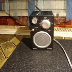 Aparat radio Panasonic portabil Denver TR43C.Fm+auxiliar, Analog, 0-40 W
