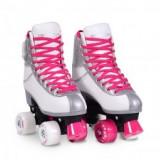 Role Copii marime ajustabila 38-39 Moni Byox Pink XL - Tricicleta copii