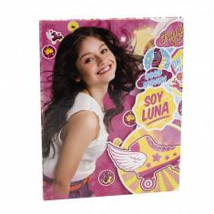 Jurnal Soy Luna cu închidere cu magnet - Caiet