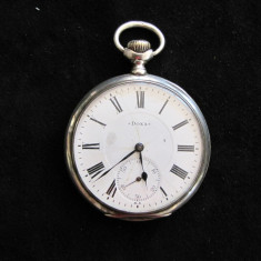 CEAS BUZUNAR ARGINT DOXA HORS CONCURS LIEGE 1905 - Ceas de buzunar vechi