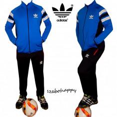 Trening Adidas Climalite pentru barbati. - Trening barbati Adidas, Marime: S, M, L, XXL, Culoare: Rosu, Turcoaz