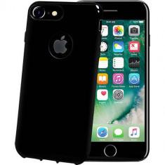 Husa Protectie Spate Celly GELSKIN801BE Black Edition Negru pentru Apple iPhone 7 Plus - Husa Telefon