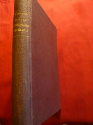 N.Coculescu -Curs de Astronomie Teoretica - Prima Ed. 1929 dedicatie si autograf foto
