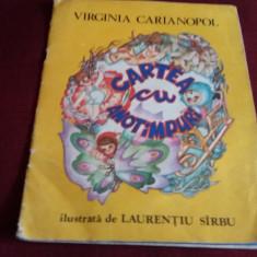 VIRGINIA CARIANOPOL - CARTEA CU ANOTIMPURI - Carte poezie copii