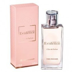 APA DE PARFUM COMME UNE EVIDENCE YVES ROCHER, 50 ML, ORIGINAL, SIGILAT - Parfum femeie