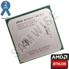 Procesor AMD Athlon 64 X2 5400+ 2.8GHz 1MB Cache Socket AM2 64-Bit GARANTIE ! - Procesor PC AMD, AMD Athlon II, Numar nuclee: 2, 2.5-3.0 GHz
