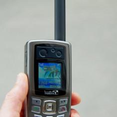 Telefon satelit Thuraya, cu numar pe SIM prepaid