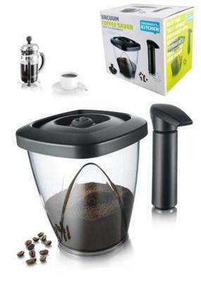 Set recipient cafea si pompa vacuumat foto
