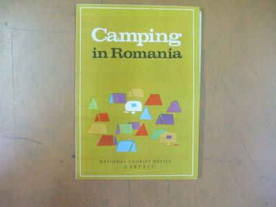 Camping In Romania Harta Lista Unitatilor Cazare Text Limba
