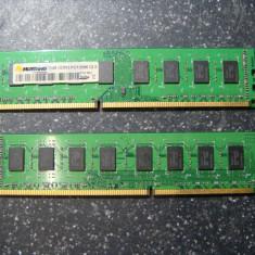 Kit memorie ram ddr3 4Gb (2 x 2Gb) desktop double side (16cip) Mustang PC10666, Dual channel