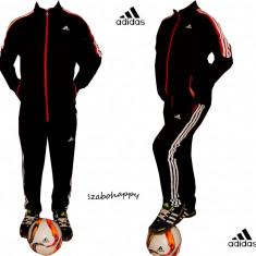 Trening Adidas Climacool pentru barbati. - Trening barbati Adidas, Marime: S, M, L, XL, XXL, Culoare: Negru, Bumbac