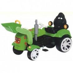 Tractor cu pedale maxy cu cupa si remorca