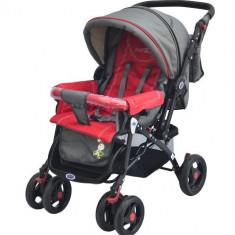 Carucior Elements Rosu Resigilat - Carucior copii 2 in 1 DHS Baby