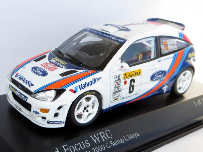 Minichamps Ford Focus WRC Winner raliul Monte Carlo 2000  1:43