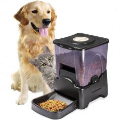 Hranitor programabil automat hrana animale de companie caini pisici hranitoare - Castron animal