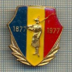 ZET 576 INSIGNA - CENTENARUL INDEPENDENTEI - 1877-1977