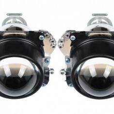 """Lupe Morimoto Bixenon Mini H1 2, 5"""" HS scurte, ideale pentru Golf 4 si Opel Astra G, Bertone"""