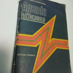 AGENDA ELECTRICIANULUI - E. PIETRAREANU - editia a 4a 1986 - Carti Energetica