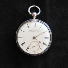 CEAS BUZUNAR ARGINT FUSEE - Ceas de buzunar vechi