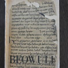 BEOWULF * Poem Epic - legenda din secolul al VI -lea - 1969, 155 p. - Carte mitologie