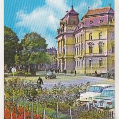 Bnk cp Oradea - Consiliul popular judetean - circulata - Carte Postala Crisana dupa 1918, Printata