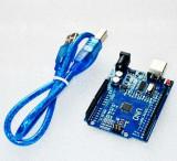 Placa dezvoltare Arduino Uno compatibil ATMEGA328 CH340 si cablu USB