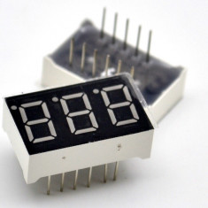 "Segment led display 3 numere 0.36"" inch"