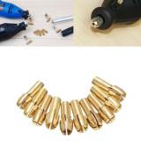 CNC FREZA Set ADAPTOR de 10 bucati ptr freze si burghie de la 0.5mm la 3.2mm
