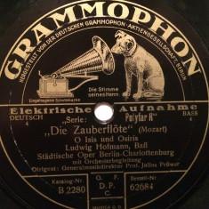 WAGNER/MOZART - (GRAMMOPHON/GERMANY) - DISC PATEFON/GRAMOFON/Stare F.Buna - Muzica Clasica, Alte tipuri suport muzica