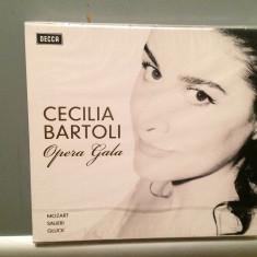 CECILIA BARTOLI - OPERA GALA (2008/DECCA REC) - CD ORIGINAL/Sigilat/Nou - Muzica Opera decca classics