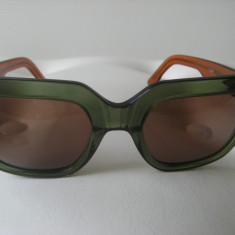 Ochelari de soare, originali, lucrati manual, noi, CASAR KAKIBrun, model unicat. - Ochelari de soare Polaroid, Femei