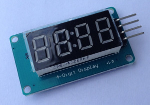 Display 4-Digit, LED display module with clock for Arduino