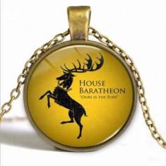 Pandantiv Game Of Thrones - House Baratheon (cu lantisor)