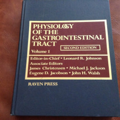 Carte medicina Engleza - Physiology of the gastrointestinal tract vol I / 910pag