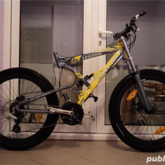 Bicicleta unicat in Iasi, First Bike legend. - Mountain Bike First Bike, 26 inch, Numar viteze: 27