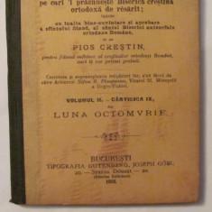 GE - Vietile Sfintilor Octombrie Volumul II Carticica IX 1902