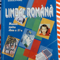 LIMBA ROMANA CLASA A IV A , PENES , MOLAN, Clasa 4
