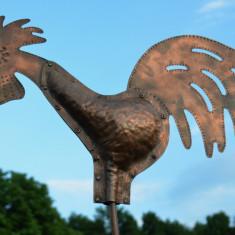 COCOS GIRUETA realizat din tabla de cupru - Metal/Fonta, Ornamentale
