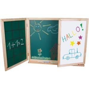 Tabla de desen cu 3 fete, pliabila Beluga foto