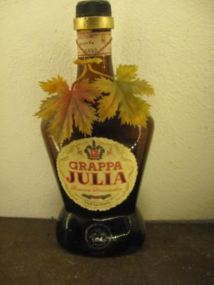 tuica, grappa italiana, Stock, JULIA, ani 1950/60, cl 75 gr 42 sticla C 2431043 foto