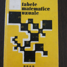TABELE MATEMATICE UZUALE (editia VII) - E. Rogai, C. Teodorescu - Tehnica, 1973 - Culegere Matematica