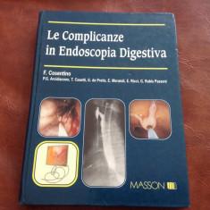 Carte de medicina L. Italiană - Le complicanze in endoscopia digestiva / 340 pag