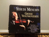 MENUHIN -Great Violin Concertos -5CD BOX (1994/EMI/UK) - CD ORIGINAL/Sigilat/Nou, emi records