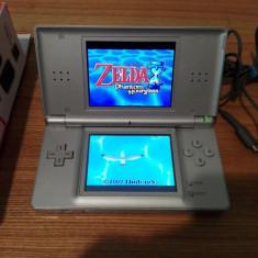 Nintendo Ds lite modat zelda, pokemon, super mario, batman, naruto, fifa