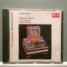 HAYDN - EMPEROR/LARK/HUNT - QUARTET(1992/RCA/GERMANY) - CD ORIGINAL/Sigilat/Nou, rca records